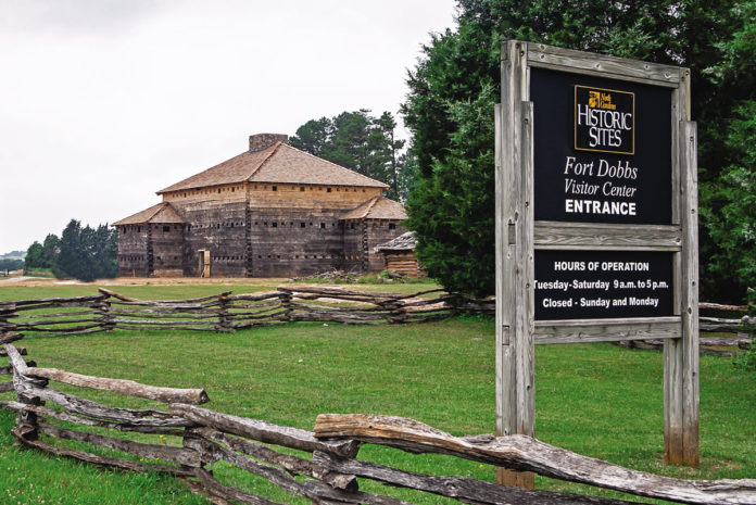 Fort Dobbs in Statesville, NC, is open for visitors