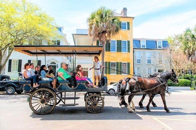 Horse-Drawn Carriage Sightseeing Tour of Historic Charleston